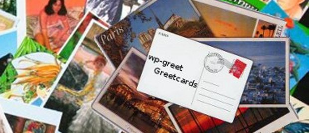 wp-greet WordPress greetcard plugin logo